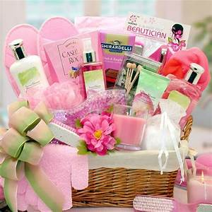 Summer Blooms and Scents, Spa Basket