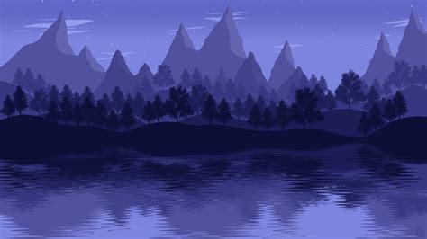 mountain lake landscape  hd artist  wallpapers