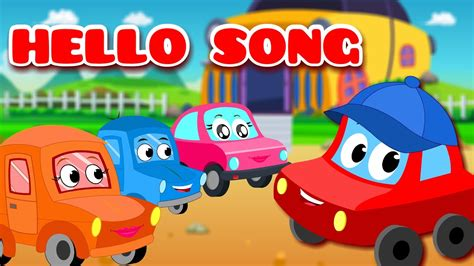 red car rhymes  red car  world song
