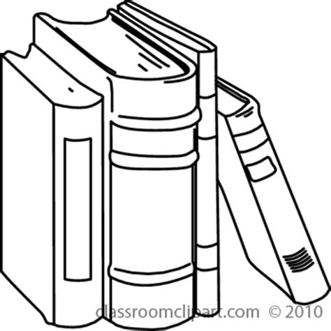 14692 student clipart black and white home clipart 07 10 s 08abooks3 classroom clipart
