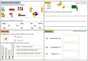 year 1 free worksheets age 5 6 ks1 the mum educates