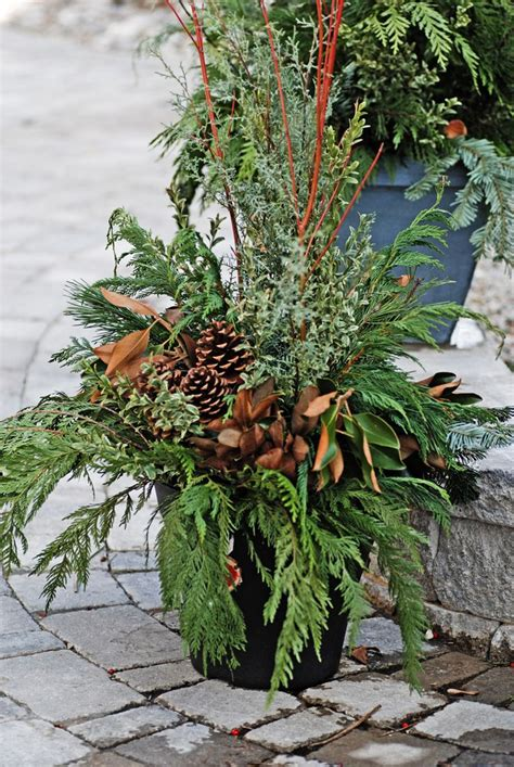 outdoor christmas greenery christmas 2 pinterest