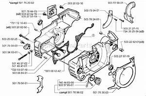 Husqvarna 55 Rancher Epa Parts List And Diagram
