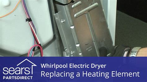 How Replace Whirlpool Electric Dryer Heating Element