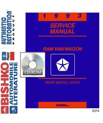 old car owners manuals 1993 dodge ram wagon b150 seat position control 1993 dodge ram van wagon body chassis electrical service manual cd