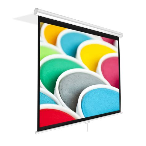 roll projector screen pylehome prjsm1006 home and office projector screens 1136