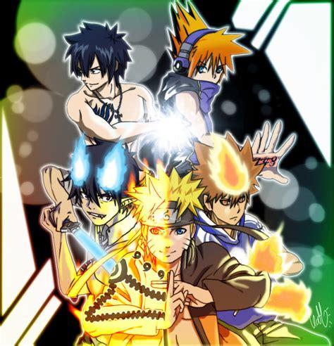 anime shounen shounen fighters wallpaper by narutoxsakuralove on deviantart