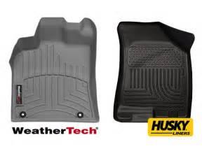 weathertech vs husky liners floor mats realtruck