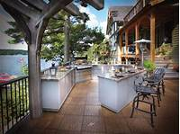 pictures of outdoor kitchens Optimizing an Outdoor Kitchen Layout | HGTV