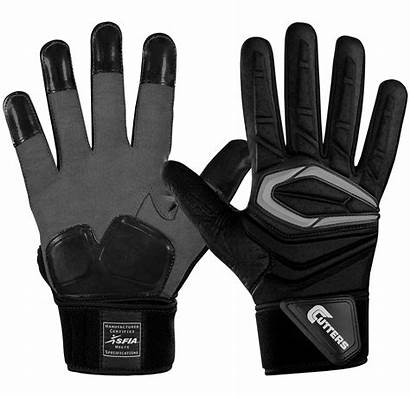 American Football Gloves Cutters Lineman Force S931