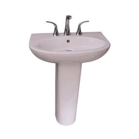 menards white pedestal sink barclay infinity 600 pedestal sink 8 quot widespread at menards 174