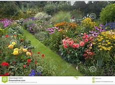 Cottage Garden Stock Photo Image 44311319