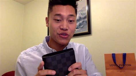louis vuitton mens wallet review youtube