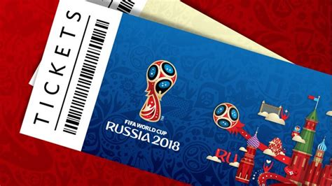 2018 Fifa World Cup Russia™  Legal  Unauthorised Ticket