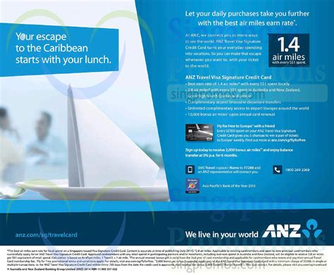 Maybe you would like to learn more about one of these? ANZ Travel Visa Signature Credit Card 12 Aug 2014
