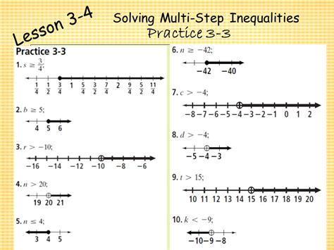Chapter 3  Algebra I Algebra I Solving Inequalities  Ppt Video Online Download