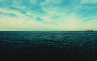Ocean Serene Desktop Water Sea Dark Super