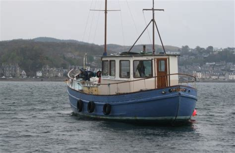 Fishing Boat Uk by For Sale Scottish Fishing Boat Wooden Motor Yacht