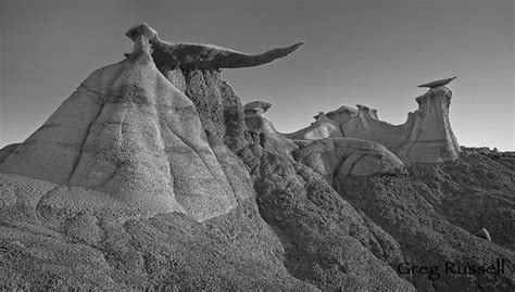 Alpenglow Images | Bisti Badlands Photographs by Greg Russell