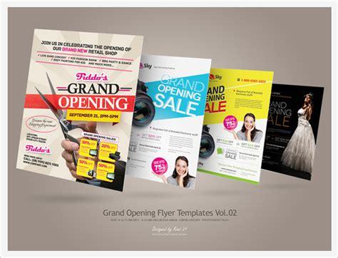 Grand Opening Flyers Vol.01 By Kinzi21