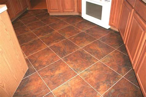 Floor Tiles by Diagonal Ceramic 18x18 Rust Color Tile Flooring Tile