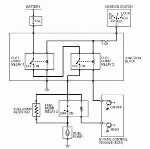Does The Stock Fuel Pump Use A Solid State Relay  - Evolutionm