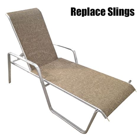 Lounge Sling Replacement Chaise Lounge Replacement Fabric