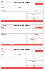 Petty Cash Receipt Payment Receipt Template Free Simple Word Excel Doc
