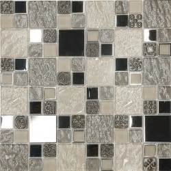 contemporary kitchen backsplashes beige metal textured glass mosaic kitchen backsplash tile