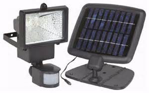 solar powered security light