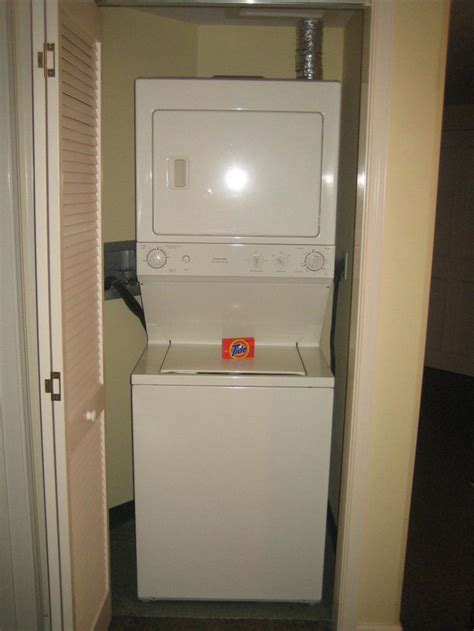 ideas  stackable washer dryer dimensions
