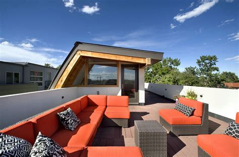 top photos ideas for modern terrace house design rooftop terrace shield house colorado by studio h t
