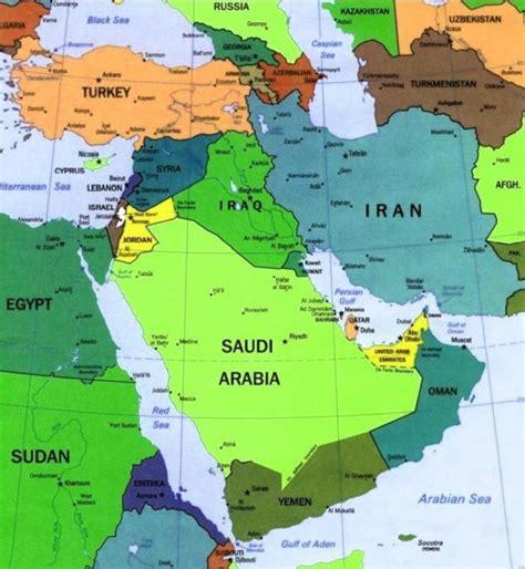 i nuovi orizzonti medio oriente il risiko delle
