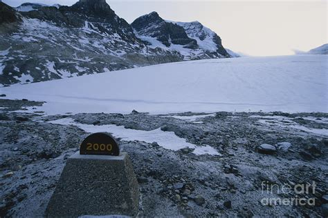 Shower Curtains Canada Online by Athabasca Glacier Canada Photograph By Mark Newman