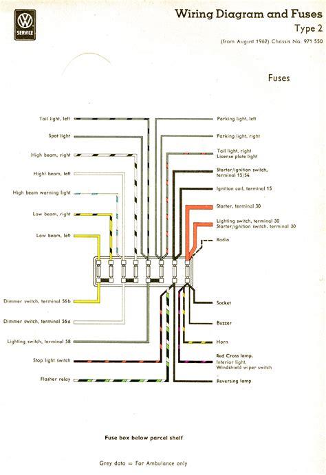 71 vw beetle fuse block wiring diagram get free image