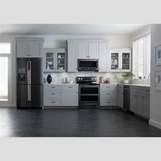 Samsung Brings Black Stainlesssteel Finish To Kitchen