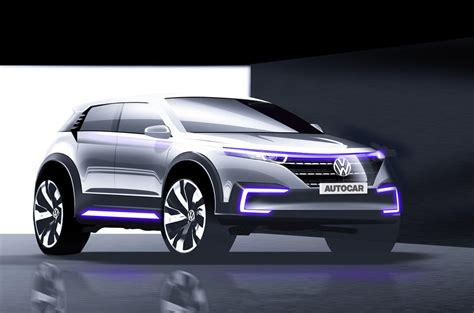 volkswagen id hatchback   precursor  future electric
