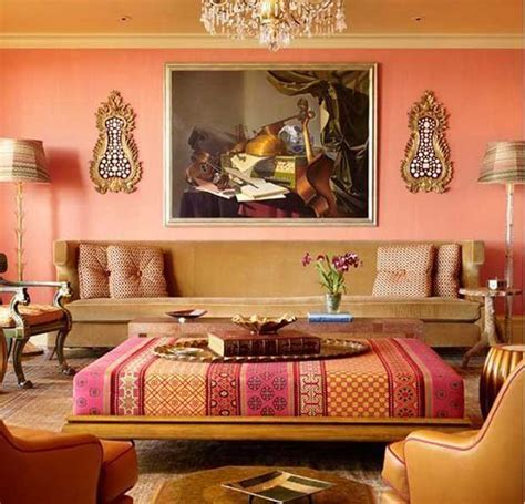 10 Colorful India Inspired Interiors Paint + Pattern