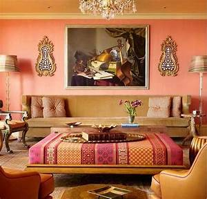 india inspired interiors With indian inspired living room design