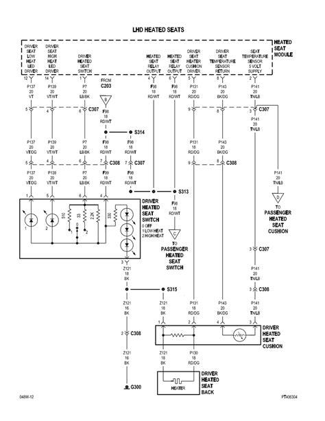 2008 Chrysler Pt Cruiser Wiring Diagram by Repair Guides Power Seat Power Seat 2 Of 3