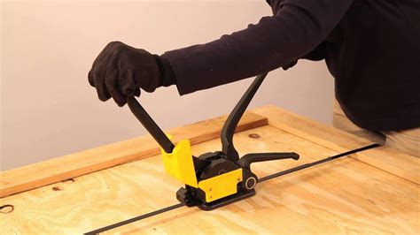 sealing steel strapping   sealless combination tool   bag youtube