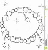 Coloring Bracelet Decorative Designlooter 1300px 63kb 1232 Illustration sketch template