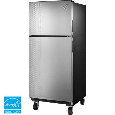garage refrigerator reviews gladiator chillerator 19 cu ft garage refrigerator