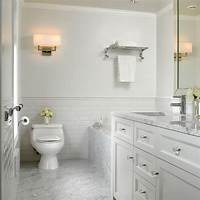white marble bathroom White Marble Bathroom - Traditional - Bathroom - Vancouver - by The Sky is the Limit Design