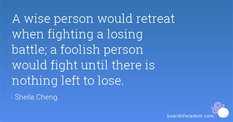Tired Of Fighting A Losing Battle Quotes