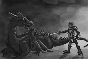 Dragon Protecting Woman