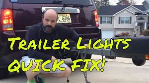 Boat Trailer Lights Not Working  Quick Fix