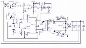 Simple Electronic Circuit Diagram