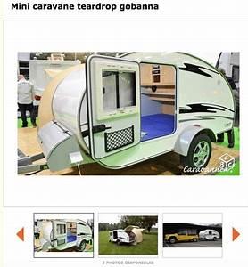 Fabriquer Mini Caravane : mehari club de france afficher le sujet mini caravane teardrop gobanna ~ Melissatoandfro.com Idées de Décoration
