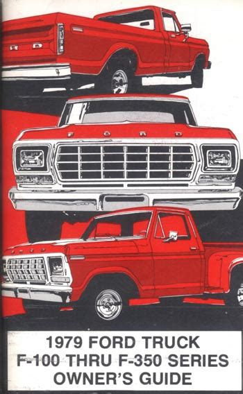 ford truck owners manual broncograveyardcom